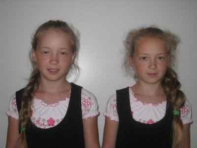 Голубцовы Анастасия и Екатерина